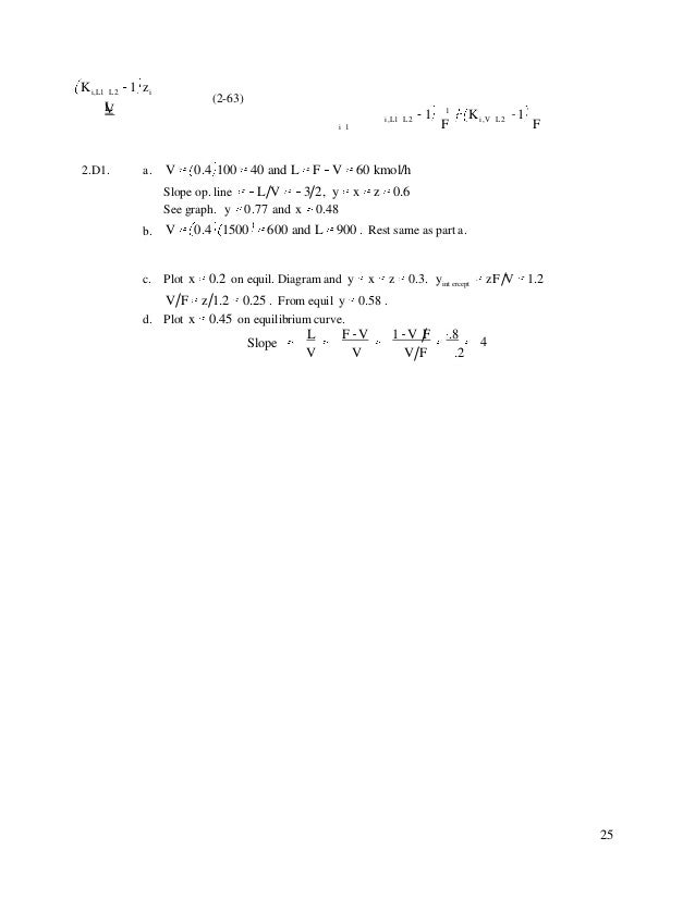 stoichiometry and process calculations solution manual