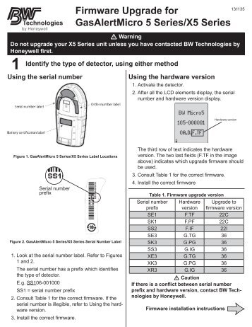 bw gas alert max xt user manual