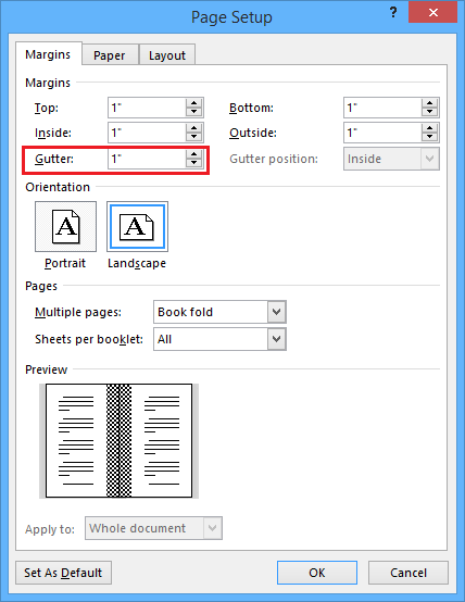 word manually print on both sides