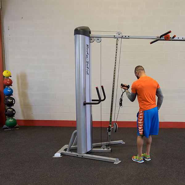 body solid cable crossover manual
