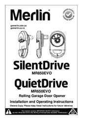 merlin professional silent drive 650 manual