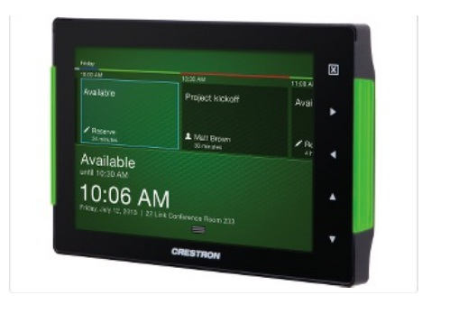 crestron wireless touch panel manual