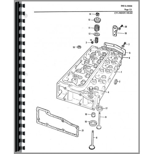 allis chalmers forklift parts manual