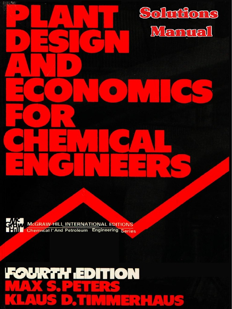 chemical engineering design towler 2nd edition solution manual pdf