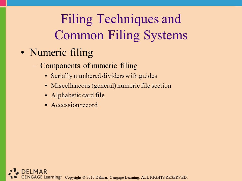 advantages and disadvantages of a manual filing system