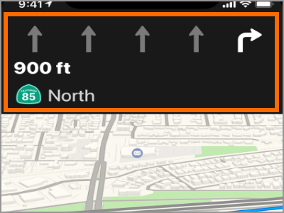 apple maps manually change route
