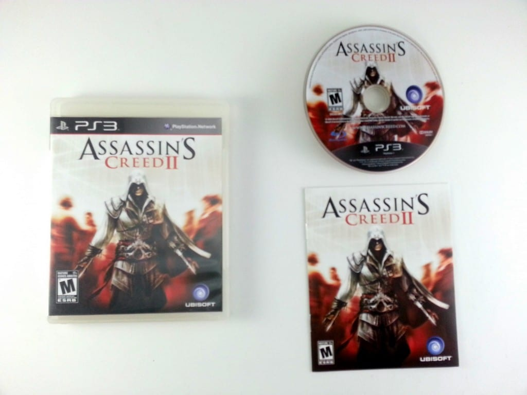 assassins creed 1 playstation 3 manual