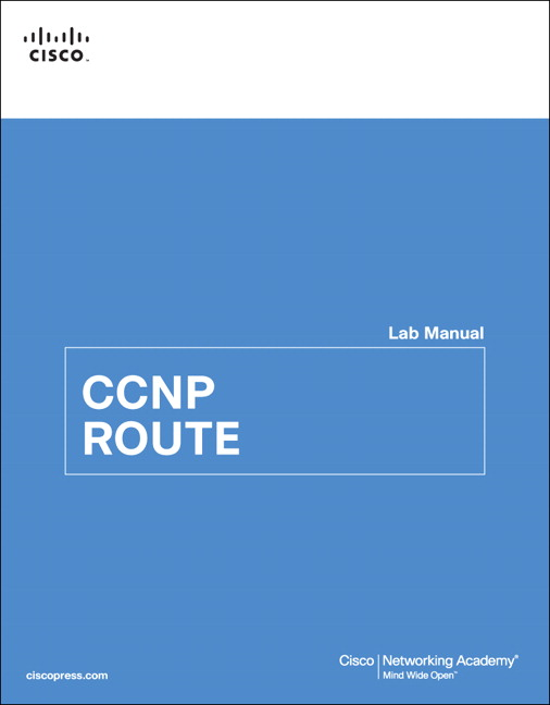 ccnp route 7.0 instructor lab manual