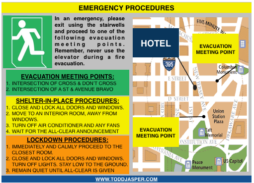 emergency procedures manual for hotels