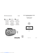 philips az1852 98 cd sound machine manual