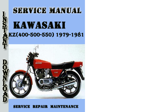 kawasaki z 550 workshop manual