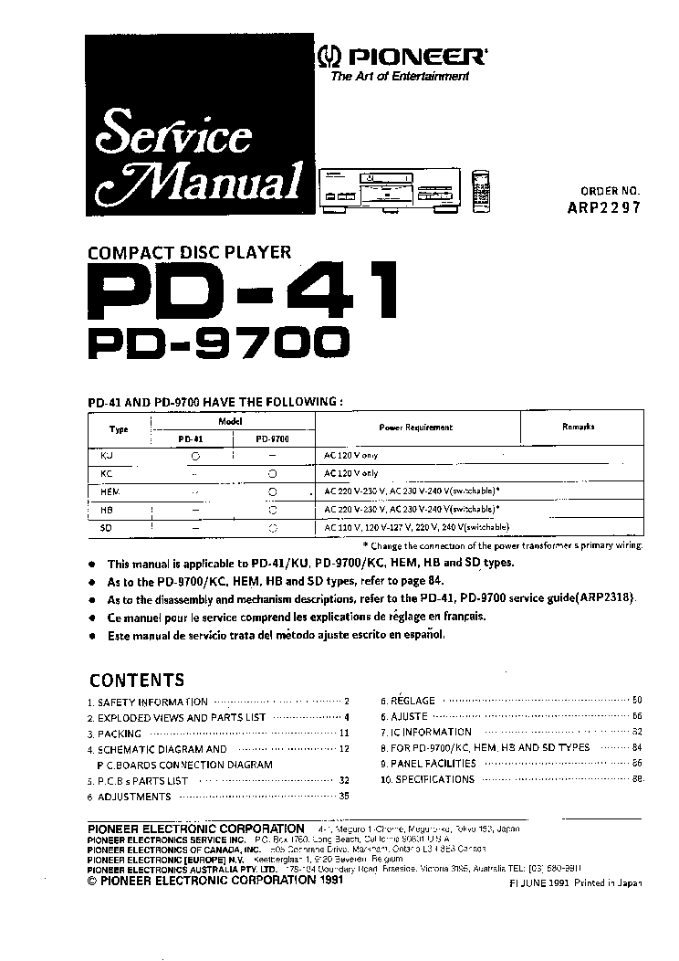 pioneer vsx-1016v manual download